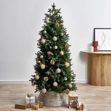 Slim Faux Aspen Fir Christmas Tree