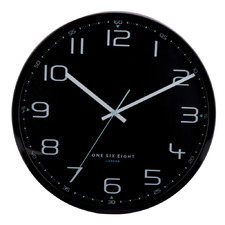Black Carter Metal Wall Clock