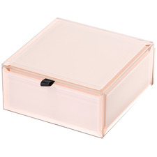 Small Florence Glass Jewellery Box
