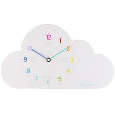 Cloud Wooden Wall Clock
