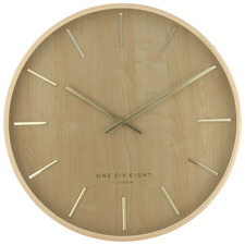 51cm Natural Marcus Wooden Wall Clock