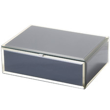 Medium Zara Glass Jewellery Box