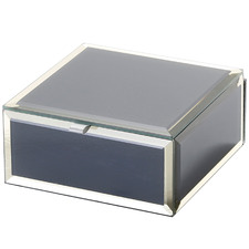 Small Zara Glass Jewellery Box
