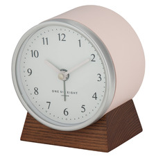 Blush Nina Alarm Clock