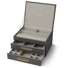 Stacey Faux Leather Jewellery Box