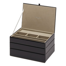3 Piece Martina Stackable Jewellery Box Set