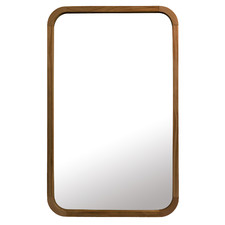 Tina Rectangular Wooden Wall Mirror