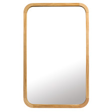 Tina Wooden Wall Mirror