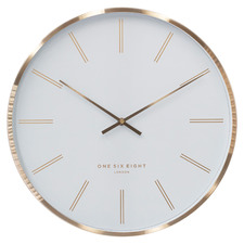 40cm Otto Metal Silent Wall Clock