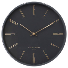 Maya Metal Silent Wall Clock