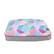 Bright Triangle Rectangular Pet Pad