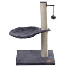 61cm Grey Monza Cat Scratching Post