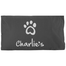 Charlie's Cotton Dog Pillowcase