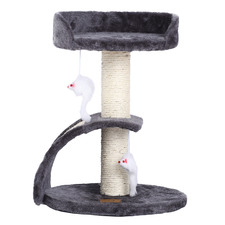 Cat Tree with Scratching Slope