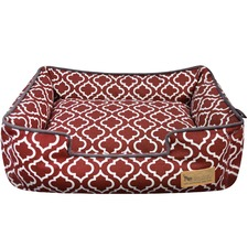 Marsala Moroccan Lounge Pet Bed