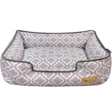 Ash Moroccan Lounge Pet Bed