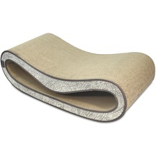 Ash Grey The Leeloo Scratch & Lounge Cat Scratcher