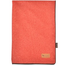 Orange & Red Luxe Twill Pet Throw