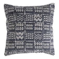Square Tribal Printed Cotton Cushion Cover