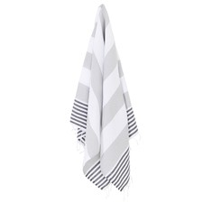 Striped Hamptons Cotton Turkish Towel