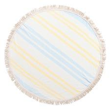 Round Cotton Picnic Rug Blanket