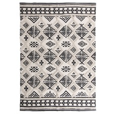 Modern Picasso Cotton Tufted Rug