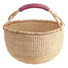 Fairtrade Market Picnic Bolga Grass Basket