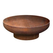 Large Natural Rust Phoenix Fire Pit