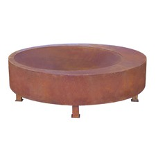 Extra Large Natural Rust Montana Fire Pit