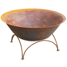 Rust Arizona Round Bowl Fire Pit