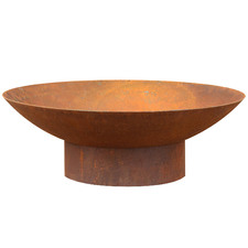 Rust Tucson Round Bowl Fire Pit