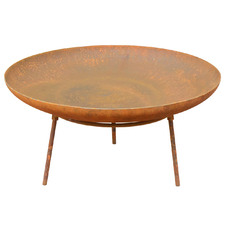 Rust Morocco Round Bowl Fire Pit