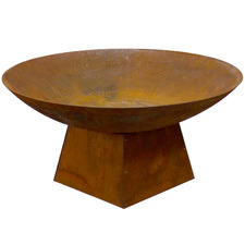 Rust Marrakesh Round Bowl Fire Pit