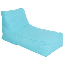 Solid Outdoor Lounger Cover