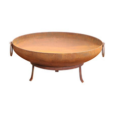 80cm Rust Athens Steel Fire Pit