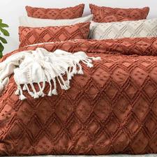 Auburn Medallion Cotton Quilt Cover Set