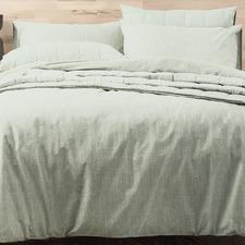 Sage Paradis Cotton Quilt Cover Set