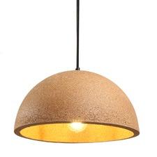 Dome Cork Pendant Light