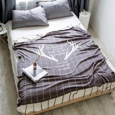 Reindeer Cotton Blanket