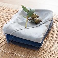 Stonewashed Cotton Baby Bath Towel
