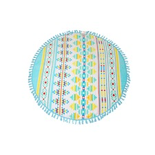 Seychelles Round Cotton Beach Towel
