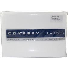 White Thermal Flannelette Sheet Set