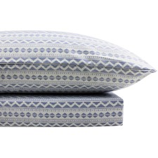 Zig Zag Thermal Flannelette Quilt Cover Set