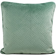 Audrey Quilted Velvet Cushion
