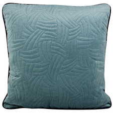 Greta Quilted Velvet Cushion
