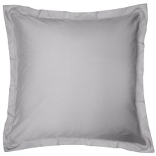 Pewter Breathe Cotton European Pillowcase