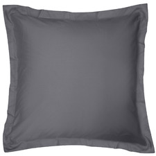 Charcoal Breathe Cotton European Pillowcase