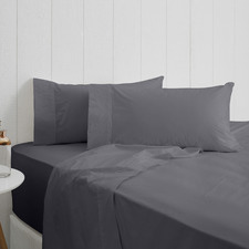 Charcoal Breathe Cotton Sheet Set