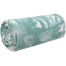 Mint Wild Palm Island Dreams Throw