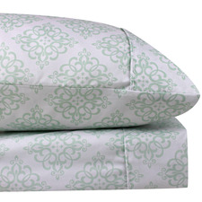 Mint Santorini Thermal Microfibre Flannelette Sheet Set
